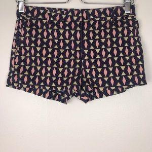H&M Diamond Geometric Print Shorts